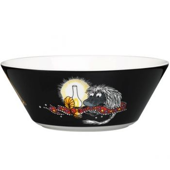 Arabia's Moomin bowl, Ancestor, black