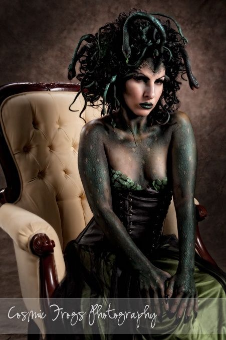 "Medusa | I know it's ""dark"" but I've wanted to dress up as Medusa for years now."