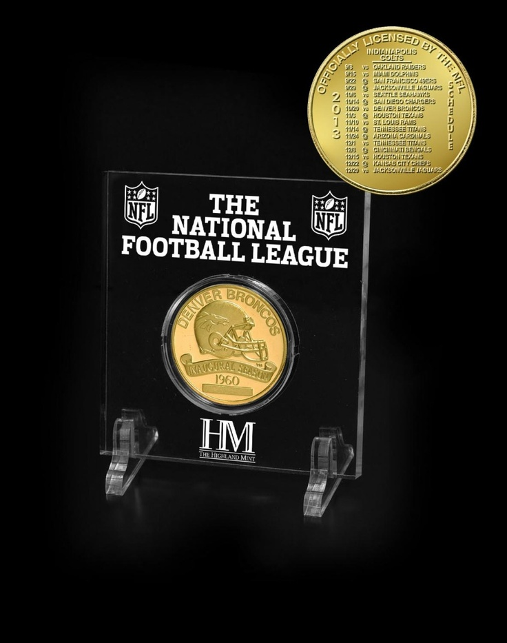 100 best denver broncos autographs sports collectibles images on aaa sports memorabilia llc denver broncos bronze 2013 schedule coin 1195 http voltagebd Image collections