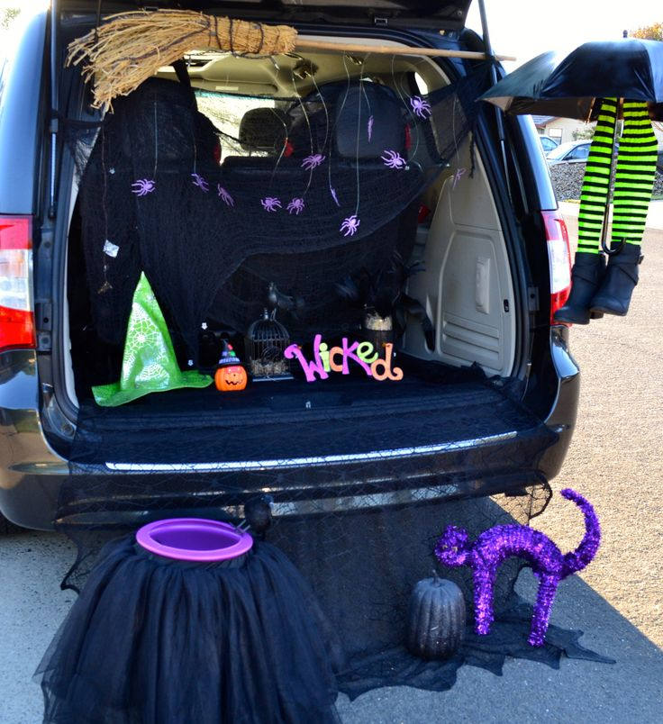 Trunk Halloween Decorating Ideas: Trunk Or Treat Witch Ideas - Google Search