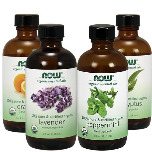Now Foods Certified Organic Essential Oils 4 oz With Optional Dropper #NowFoods