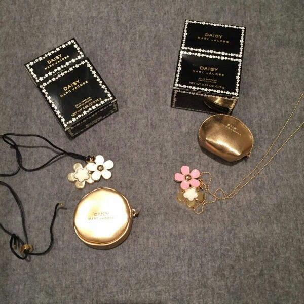 Marc Jacobs solid perfume necklace x 2 new