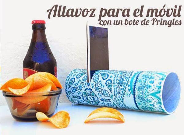 DIY ganador del concurso de Pringles. UN ALTAVOZ!