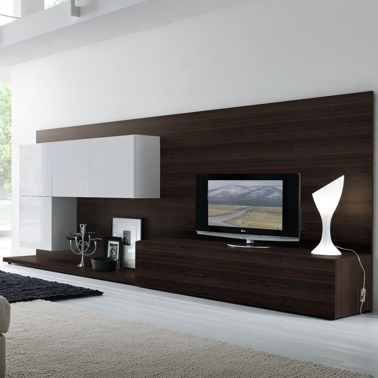 Contemporary Wall Units Entertainment Centers