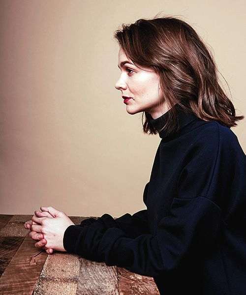 Carey Mulligan photographed by Michael Buckner for Deadline's portrait session during the Sundance Film Festival
