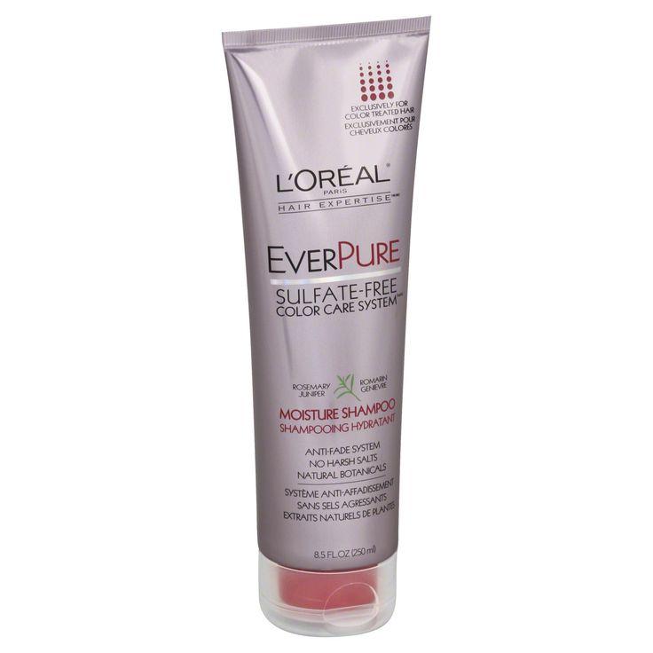 L'Oreal Hair Expertise EverPure Shampoo, Moisture, Rosemary Juniper, 8.5 fl oz (250 ml)