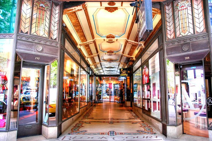 Photographers love arcades like Block Court in Collin Street. Alan Lam / CC BY ND 2.0