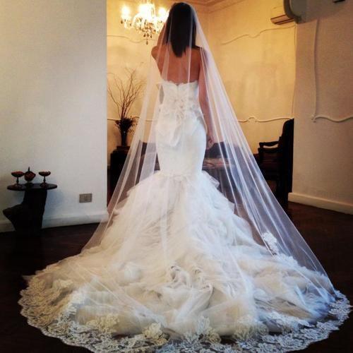 Yasmine Yeya Couture gorgeous mermaid gown