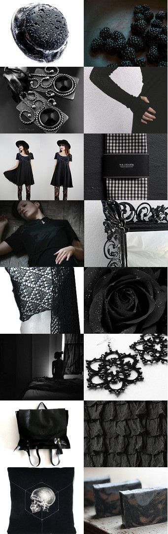 Any colour you like as long as it`s black by Anna Borysewicz-Segit on Etsy--Pinned with TreasuryPin.com