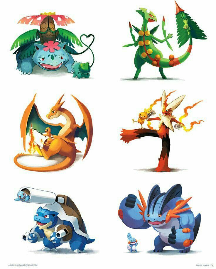 pokemon kanto starters mega - photo #17