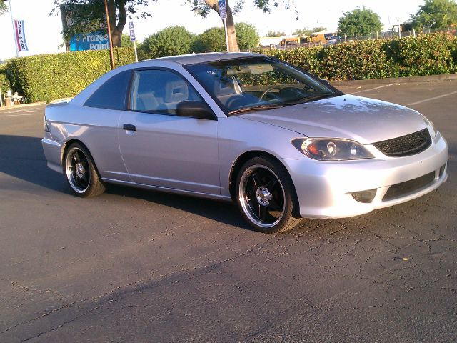 2001 honda civic coupe tint windows | 2004 Honda Civic VP Coupe with Front Side Airba