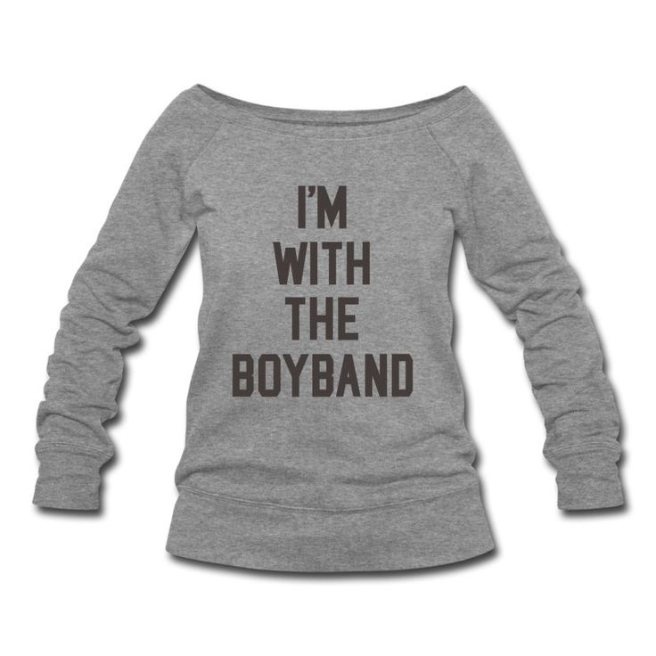 I'm with the boyband shirt design for fans, groupies, musicians and everyone else. One direction, Backstreet boys. Check the shop for products from this design  here: http://zanitees.spreadshirt.com/