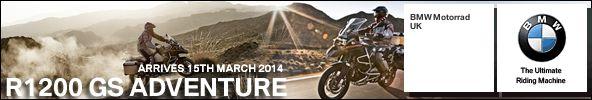 Sponsored by BMW Motorrad UK Ltd