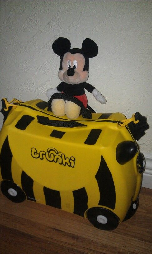 Ready for tomorrows travel to see Mickey!