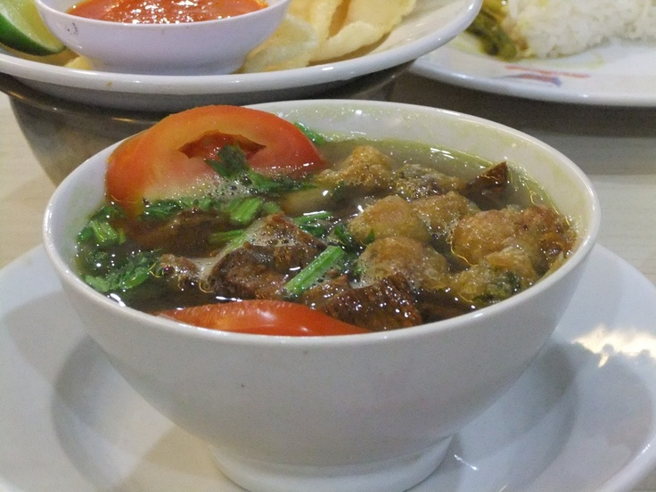 Indonesian Recipes : SOTO PADANG. Please visit http://icooking.info/indonesian-recipes-soto-padang/ to see the recipes