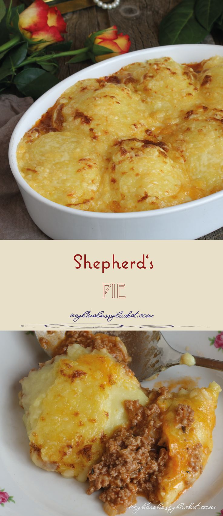 Shepherd's Pie, the traditional English comfort food, consisting of beef, gravy, potato mash and cheese. An all-time favorite for everyone.