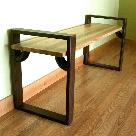 Hey, I found this really awesome Etsy listing at http://www.etsy.com/listing/124859906/modern-industrial-bench
