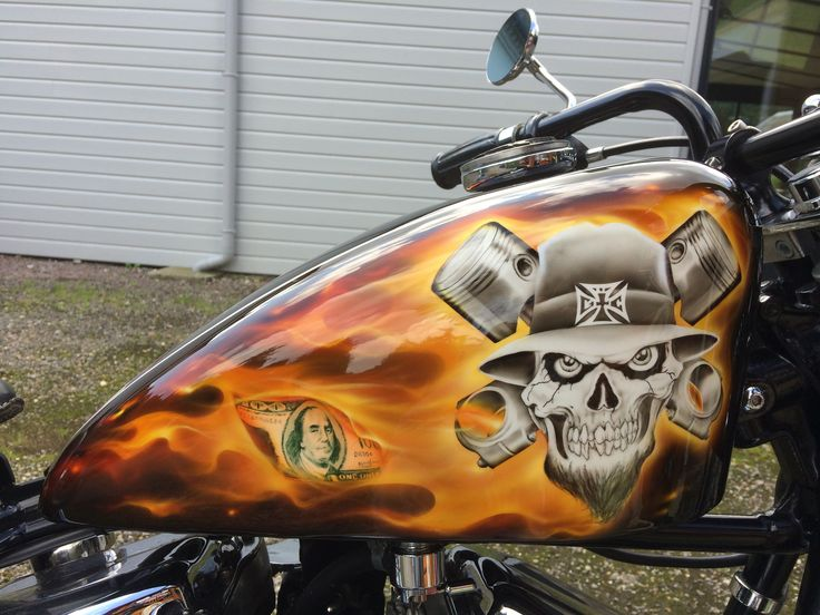 Harley Davidson Ciryl Tattoo Cool Paint Jobs