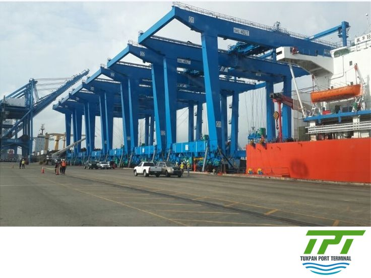 THE BEST PORT TERMINAL IN MEXICO. Tuxpan Port Terminal will have a yard with automated cranes powered electrically in order to reduce pollutant emissions. For TPT is very important to preserve the environment of the port of Tuxpan and the welfare of its people. #Mexicoport