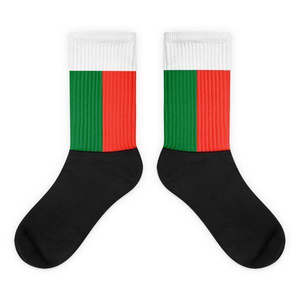 Madagascar - Flag Socks - Choosetorep.com- LDS Missionary- Called to serve