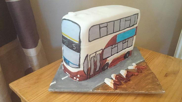 A double Decker Bus, Edinburgh themed