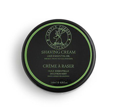 Shaving Creams Foams and Gels: Castle Forbes Lime Oil Shaving Cream, 6.8 Fl. Oz. -> BUY IT NOW ONLY: $38.54 on eBay!