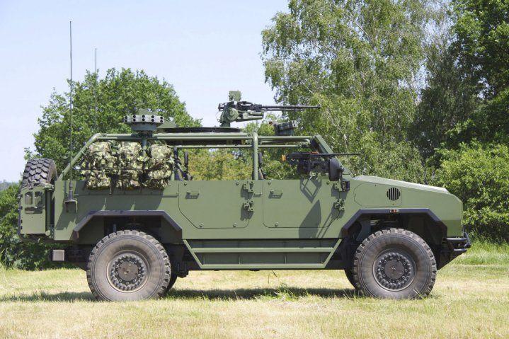 veicolo per SOV 4x4 Perun