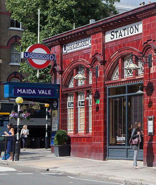MAIDA VALE TUBE STATION | MAIDA VALE | WESTMINSTER | LONDON | ENGLAND: *London Underground: Bakerloo Line*