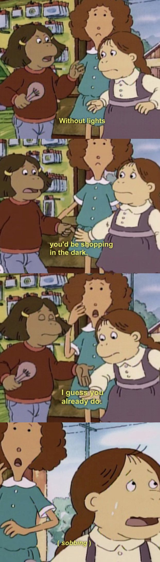 "When Francine read Muffy FOR FILTH: | 19 Times ""Arthur"" Was The Most Savage Show That Ever Existed"