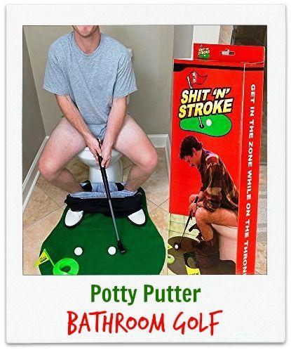 Toilet #Golf Potty Putter Set - http://amzn.to/2fGzgQX