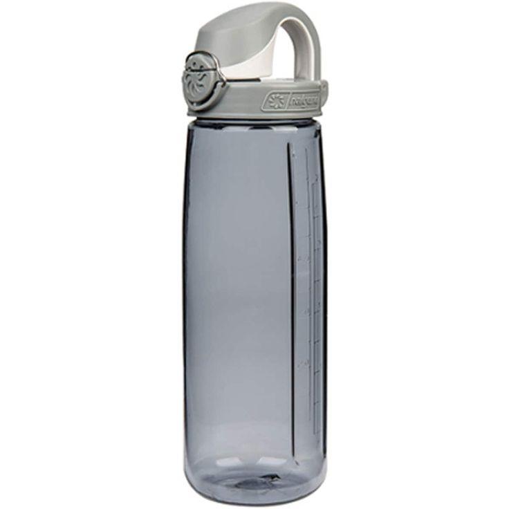 Nalgene Tritan On the Fly Water Bottle - 24 oz.- Smoke/Gray, Grey (Plastic)