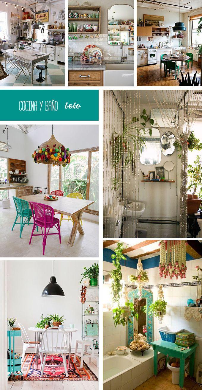 Las 25 mejores ideas sobre casa bohemia en pinterest - Cocinas buenas y baratas ...