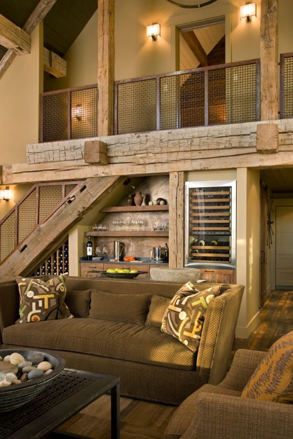 25 best ideas about rustic living rooms on pinterest for Rustic living room ideas