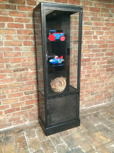 Vintage Industrial Display Cabinet for sale at Pamono