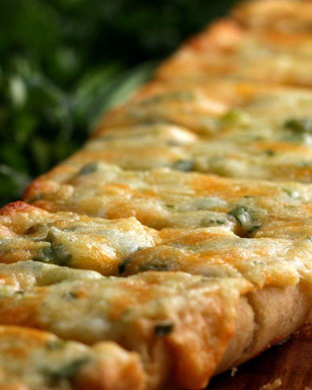 3-sýr Česnek Chléb