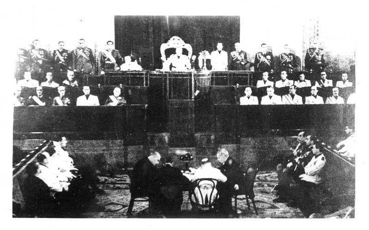 Efemérides de Madrid. 16 de marzo. Inauguración de las Cortes españolas. 16-03-1943