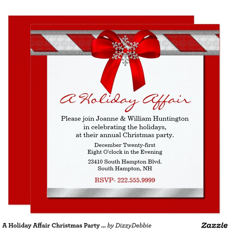 967 best Christmas Party Invitations images on Pinterest ...