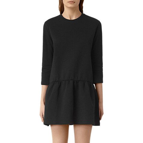 Buy AllSaints Niki Dress, Black Online at johnlewis.com