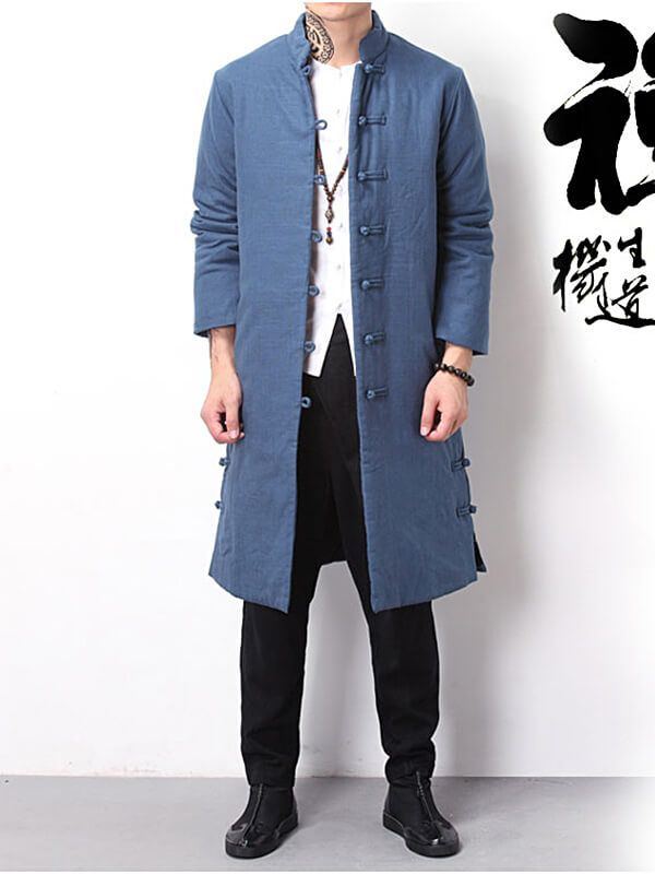 Vintage Chinese Style Cotton Clothing Chinese Style Chinese Suit Mens Clothing Styles
