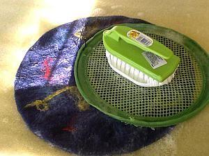 Как я сделала комплект для притирания при мокром валянии | Ярмарка Мастеров - ручная работа, handmade