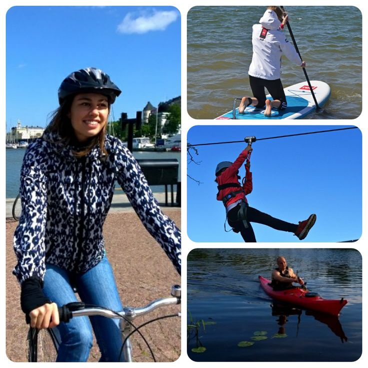 What to do in Helsinki? Make a round tour of Helsinki by cycling from activity to activity! A self-guided cycle tour of 45 kilometers includes three fun activity stops: SUP boarding at Hietaniemi beach and high tree rope course in Zippy Adventure Park. Take it all in one day or split in two days. Enjoy relaxed!