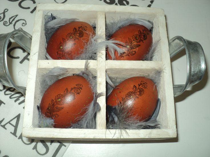 Velikonoční vajíčka 2017