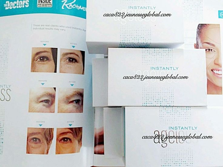 Jeunesse Instantly Ageless 50 Sachets 100% Authentic New in Sealed Box #Jeunesse