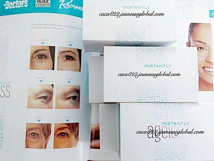 Jeunesse Instantly Ageless 50 Sachets 100% Authentic New in Sealed Box #Jeunesse