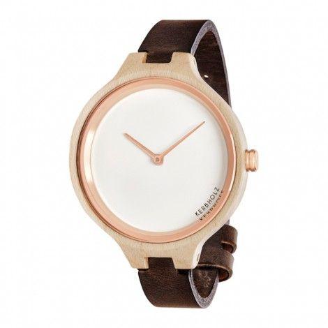 Koop dit Kerbholz Hinze Maple/Black horloge horloge online in onze webwinkel.                     Dit is een dames, heren, unisex horloge met een quartz uurwerk.                             De kleur van de kast is beige en de kleur van het uurwerk is wit.                             De kast is gemaakt van hout en de band van het horloge van leer.                                               Wij zijn officieel dealer van Kerbholz horloges. Je ontvangt dus ook de standaard ...
