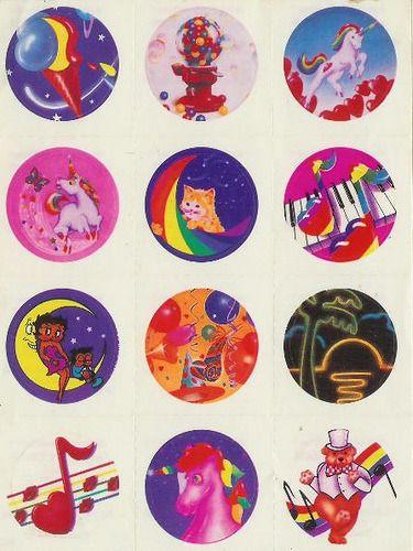 "forwhomthetacobelltolls:  "" Vintage Lisa Frank Stickers by MySweetSkull on Flickr.  """