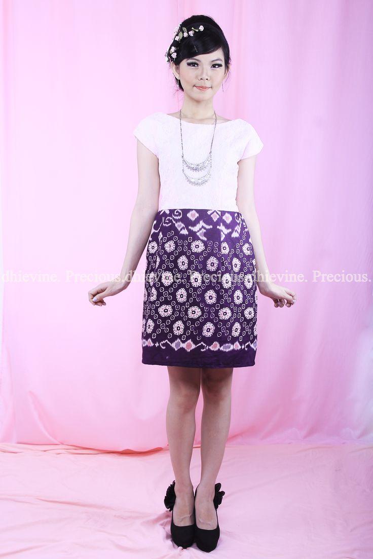 Batik Dress   Lace Dress   Dress Kebaya  Serendibite Pink Dress   DhieVine   Redefine You
