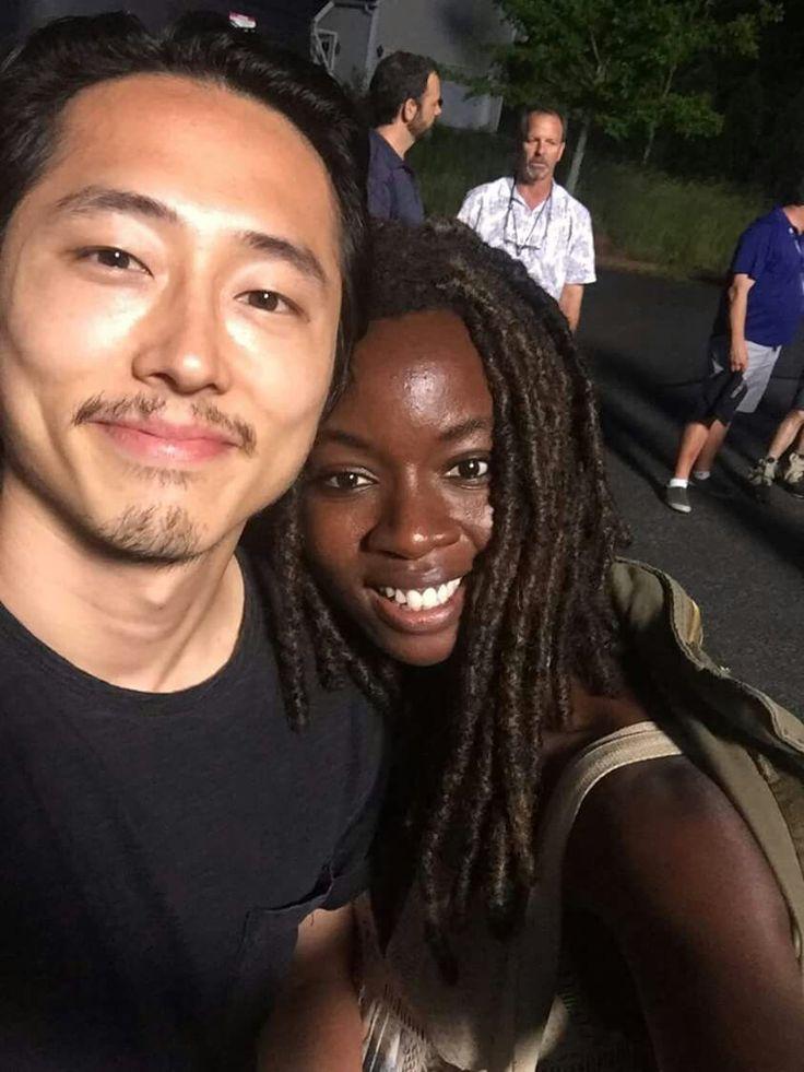 Glenn & Michonne