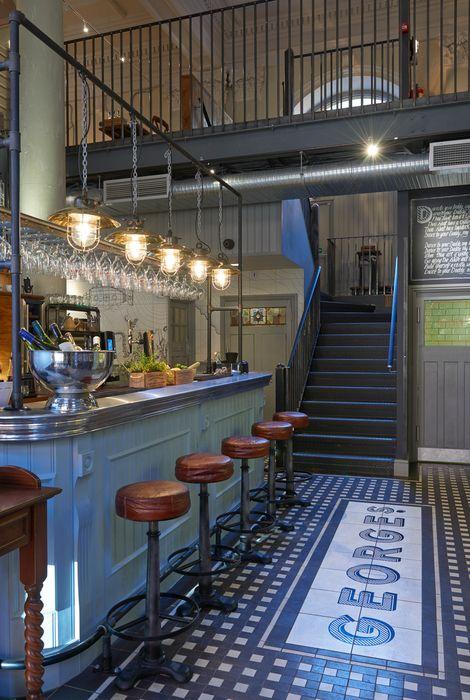 George's Fish & Chip Kitchen (Nottingham), Restaurant or Bar in a heritage building | Restaurant & Bar Design Awards