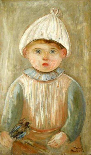 Little Boy Tadeusz Makowski, Polish 1882-1932